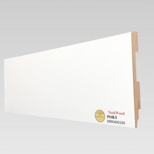 Белый фигурный (80х16)
