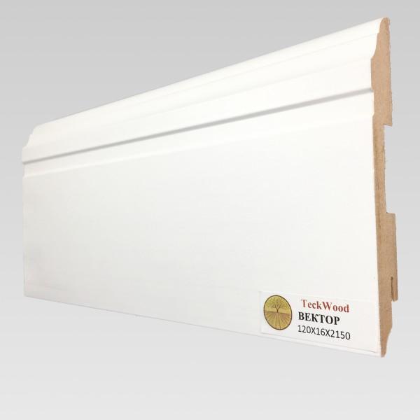 Белый Вектор (120х16) TeckWood