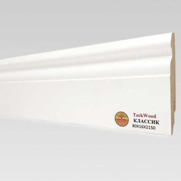 Белый Классик (80х16) TeckWood
