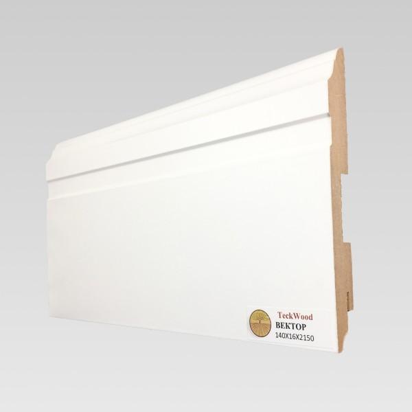 Белый Вектор (140х16) TeckWood