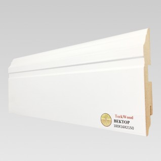 Белый Вектор (100х16)