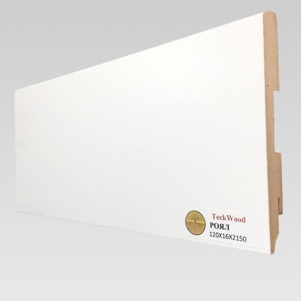 Белый Роял (120х16) TeckWood